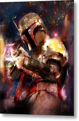 The Bad Guy Metal Print by Russell Pierce