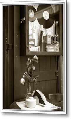 The Ballad Of The Sad Cafe Metal Print by Robert Lacy