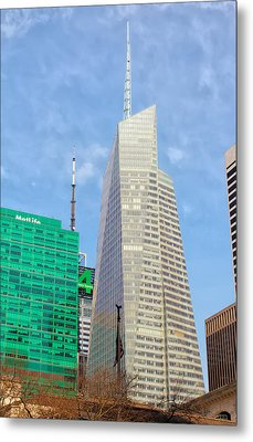 The Bank Of America Building Metal Print by Artistic Photos
