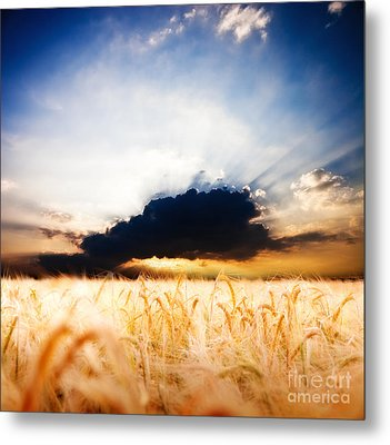 The Beautiful Sunset Metal Print by Boon Mee