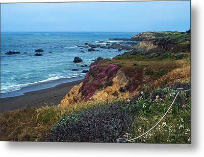 The Beauty Of The Central Coast Metal Print by Kathy Yates
