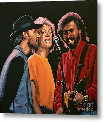 The Bee Gees Metal Print by Paul Meijering