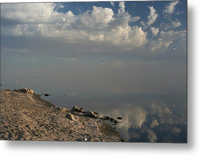The Beginning And The End Metal Print by Laurie Search