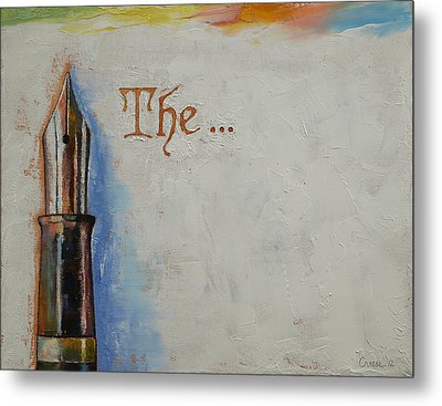 The Beginning Metal Print by Michael Creese