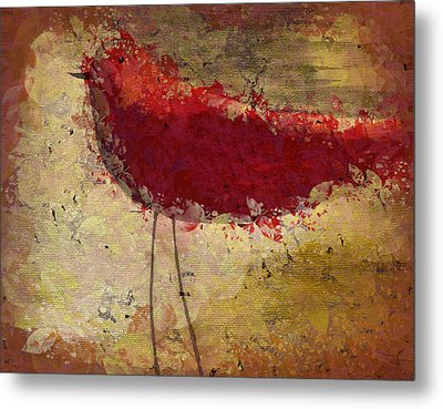 The Bird - S65b Metal Print by Variance Collections
