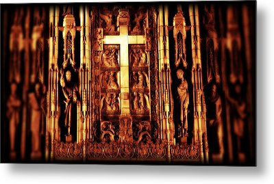 The Blood Of Christ Metal Print by Dan Sproul