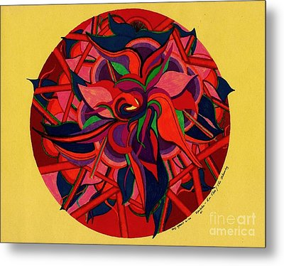 The Blooming Metal Print by Suzi Gessert