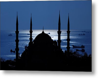 The Blue Mosque Metal Print by Ayhan Altun