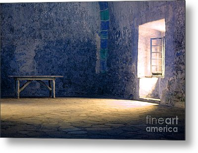 The Blue Room Metal Print by Bob Christopher