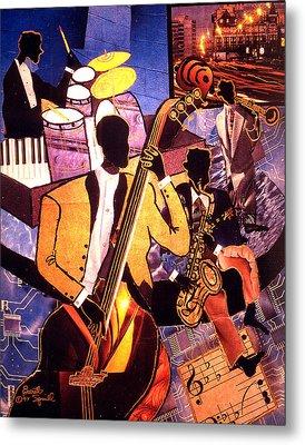 The Blues People Metal Print by Everett Spruill