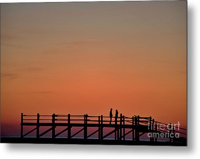The Boardwalk Metal Print by Heiko Koehrer-Wagner
