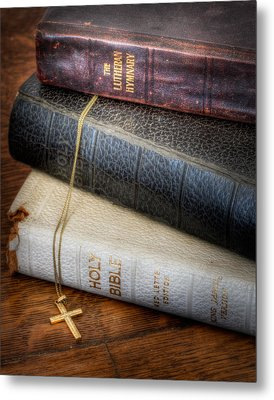 The Books Metal Print by David and Carol Kelly