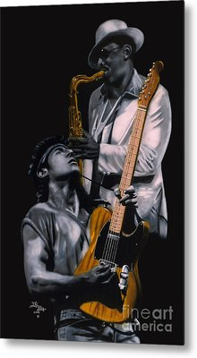 New Jersey's Bruce And Clarence Metal Print by Thomas J Herring