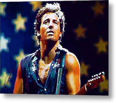 The Boss Metal Print by John Travisano