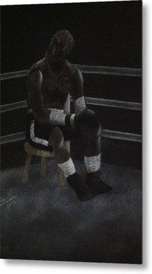 The Boxer 2013 Metal Print by Carl Frankel