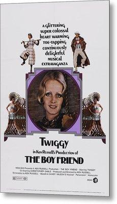 The Boy Friend, Us Poster Art, Twiggy Metal Print by Everett