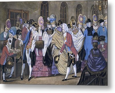 The Bread And Butter Manufactory Metal Print by English School