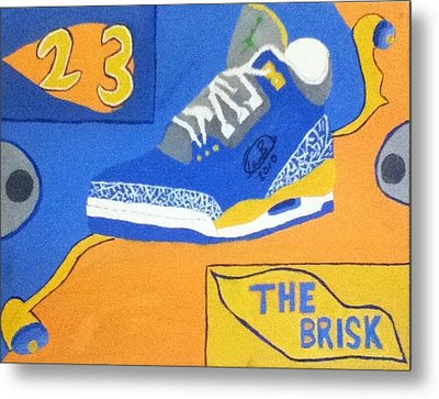 The Brisk Metal Print by Mj  Museum