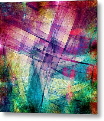 The Building Blocks Metal Print by Angelina Vick
