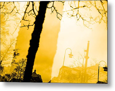 The Buildings Metal Print by Toppart Sweden