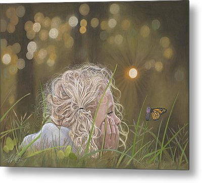 The Butterfly Metal Print by Terry Kirkland Cook