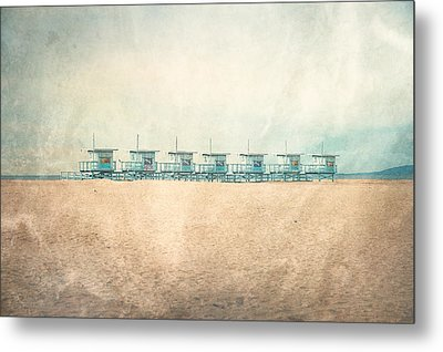 The Cabins Metal Print by Nastasia Cook