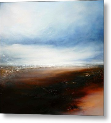 The Calling Shores Metal Print by Simon Kenny