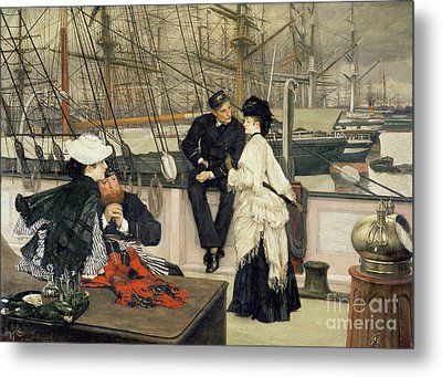 The Captain And The Mate Metal Print by Celestial Images