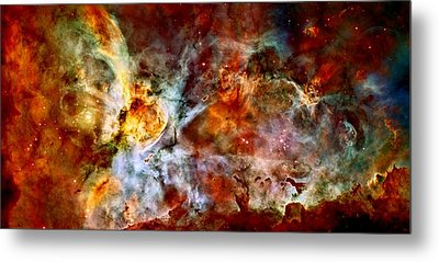 The Carina Nebula Metal Print by Amanda Struz