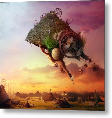The Carnival Is Over Metal Print by Mario Sanchez Nevado