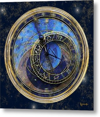 The Carousel Of Time Metal Print by RC deWinter