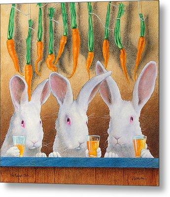 The Carrot Club... Metal Print by Will Bullas