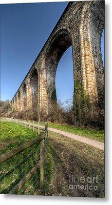 The Cefn Mawr Viaduct Metal Print by Adrian Evans