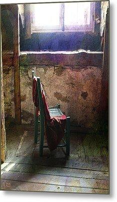 The Chair Metal Print by Julika Winkler