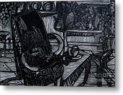 The Chair Of My Dreams Metal Print by Charlie Spear