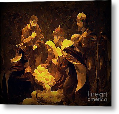 The Child Metal Print by Erica Hanel