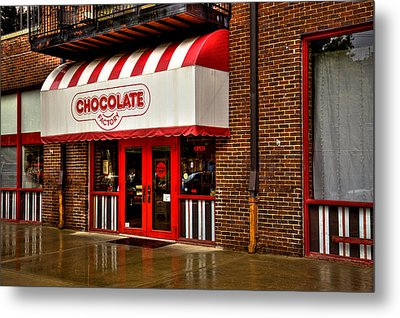 The Chocolate Factory Metal Print by David Patterson