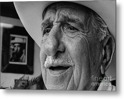 The Cigar Maker Metal Print by Rene Triay Photography