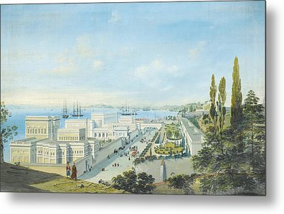 The Ciragan Palace Metal Print by Celestial Images