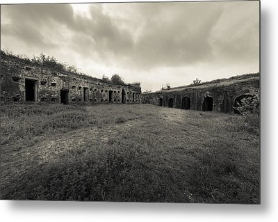 The Citadel At Fort Macomb Metal Print by David Morefield