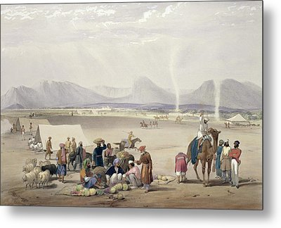 The City Of Candahar, From Sketches Metal Print by James Atkinson