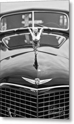 The Classic Cadillac Car At The Concours D Elegance. Metal Print by Jamie Pham