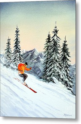 The Clear Leader Metal Print by Bill Holkham