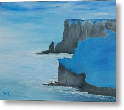 The Cliffs Of Moher Metal Print by Conor Murphy