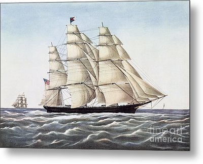 The Clipper Ship Flying Cloud Metal Print by Anonymous