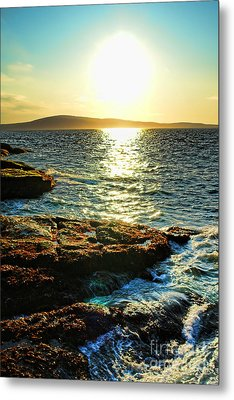 The Coast Of Maine Metal Print by Olivier Le Queinec