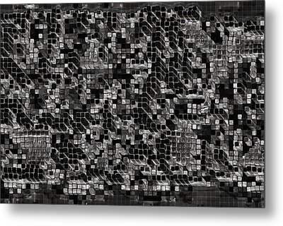 The Collective Metal Print by Jack Zulli
