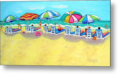 The Color Of Summer  Metal Print by Rebecca Korpita