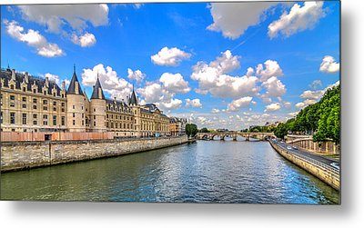 The Conciergerie On The Seine Metal Print by Tim Stanley