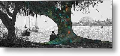 The Conscious Tree Metal Print by Betsy C Knapp